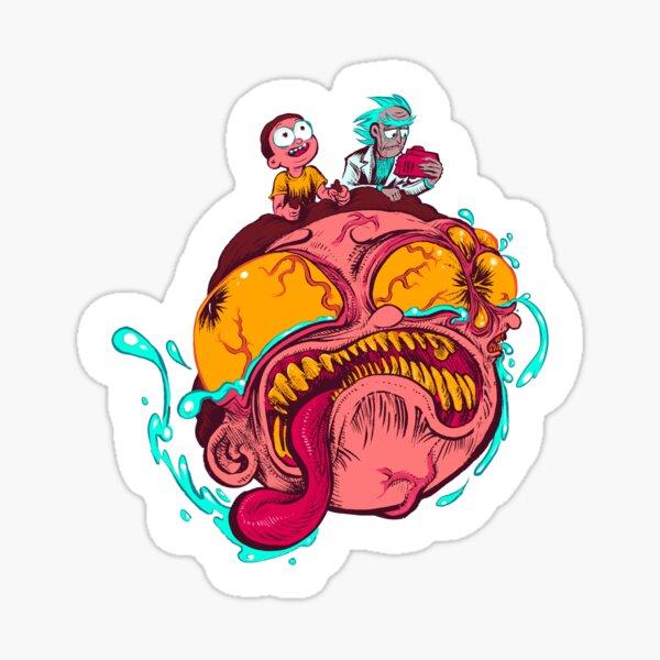 BIG HEAD MORTY Sticker