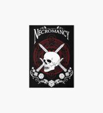 Necromancy - D&D Magic School Series : White Art Board