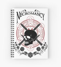 Necromancy - D&D Magic School Series : Black Spiral Notebook