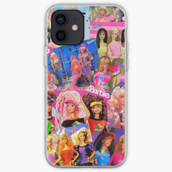 Barbie de los 80 Funda blanda para iPhone