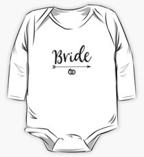 Bride Gift Party Wedding Day Engagement Humor Shirt One Piece - Long Sleeve
