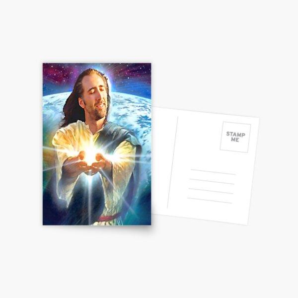 jesus cage Postcard