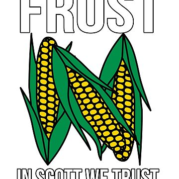 Camiseta FROST Scott We Trust de Nebraska Football Coach de IntrepiShirts