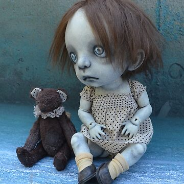 Gothic Artist Doll by darkalleydolls