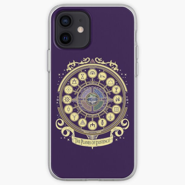 The Planes of Existence  iPhone Soft Case