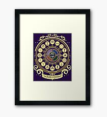 The Planes of Existence - D&D School Series Framed Print