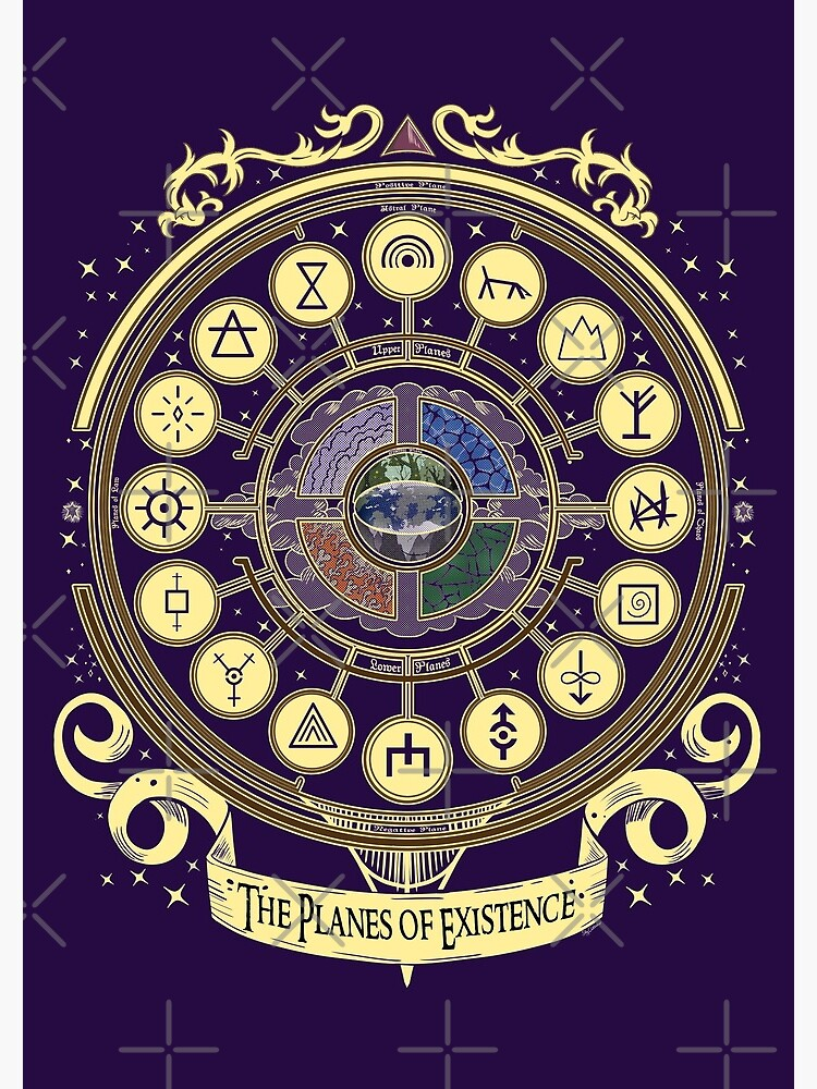 The Planes of Existence - D&D School Series by Milmino