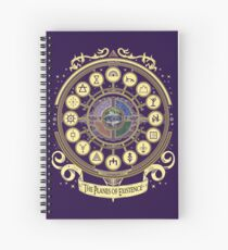 The Planes of Existence - D&D School Series Spiral Notebook