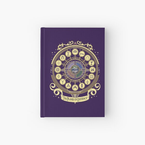 The Planes of Existence  Hardcover Journal