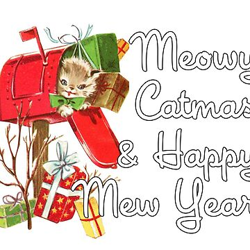 Meowy Catmas & Happy Mew Year (Christmas, New Year) by zork40