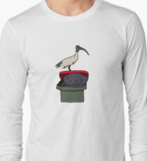 Bin Chicken Long Sleeve T-Shirt