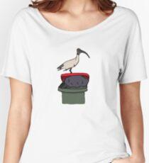 Bin Chicken Women's Relaxed Fit T-Shirt