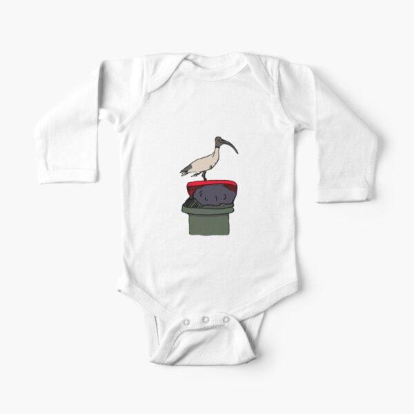 Bin Chicken Long Sleeve Baby One-Piece