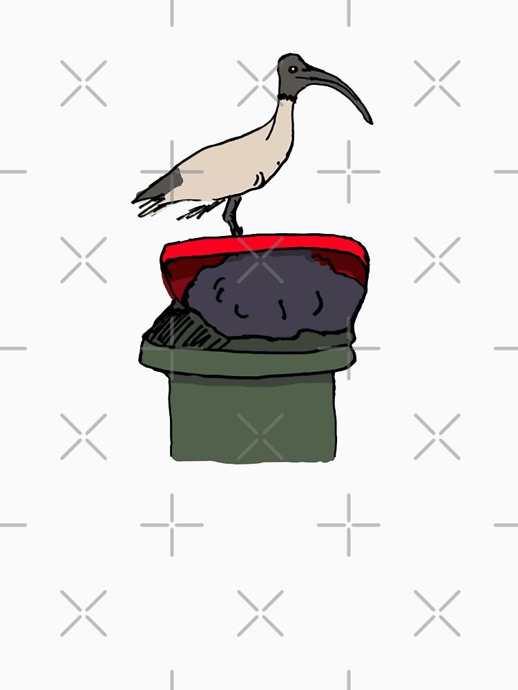 Bin Chicken by strayastickers