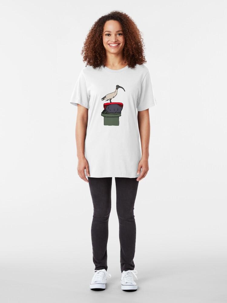 Alternate view of Bin Chicken Slim Fit T-Shirt
