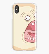 Shouting Sun iPhone Case
