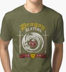 Dragon Slayers  Guild Tri-blend T-Shirt