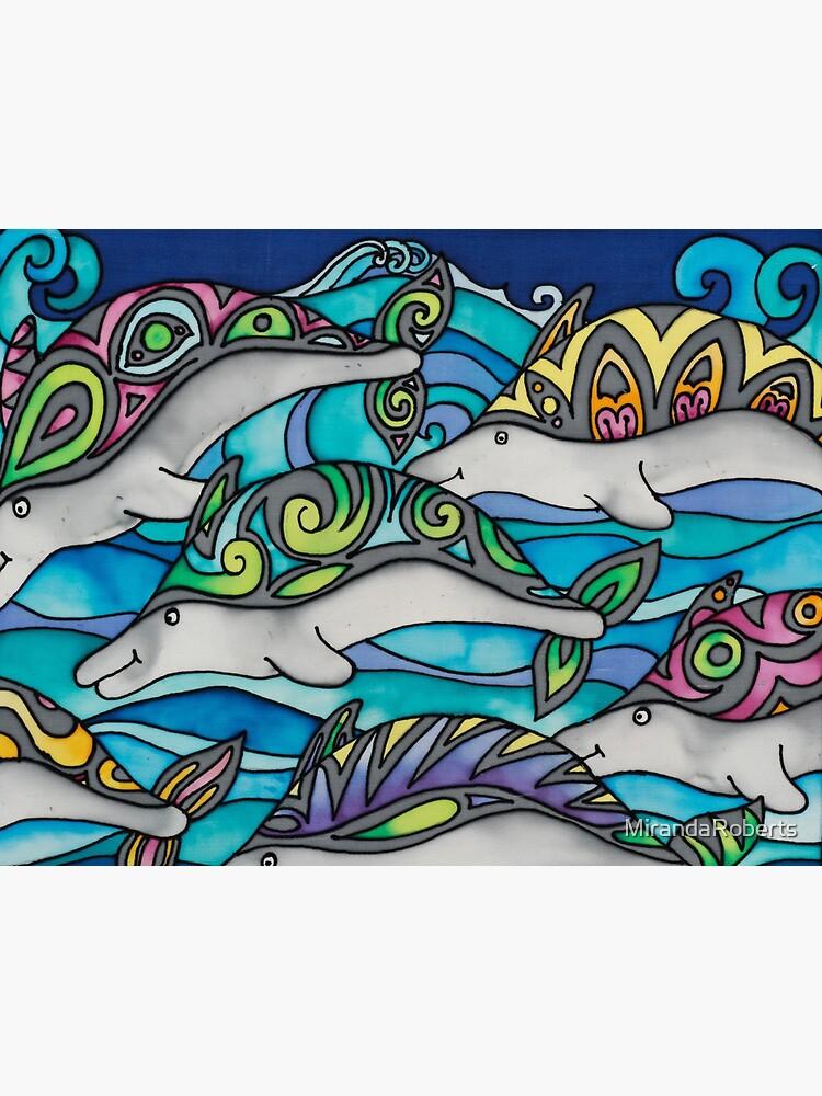 Hippie Dolphins by MirandaRoberts