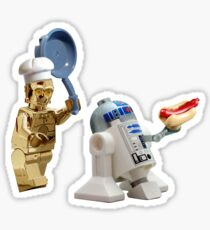 R2-D2 Hot Dog Thief Sticker