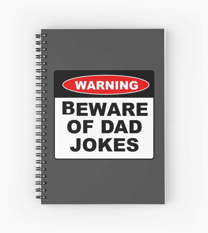 Warning Beware Of Dad Jokes Funny Dad Christmas, Birthday Or Fathers ...