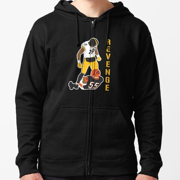 Juju Smith Revenge Tshirt Zipped Hoodie