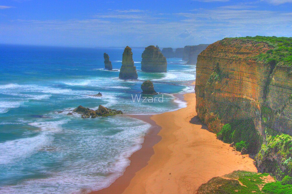 Port Campbell Series No 6 by Wzard