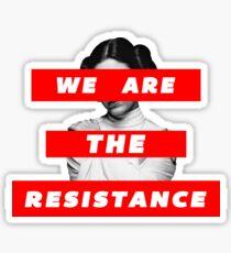 Wir sind der Widerstandsteil. Deux Sticker