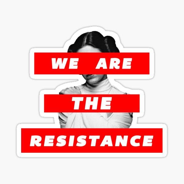 Somos la parte de resistencia. deux Pegatina