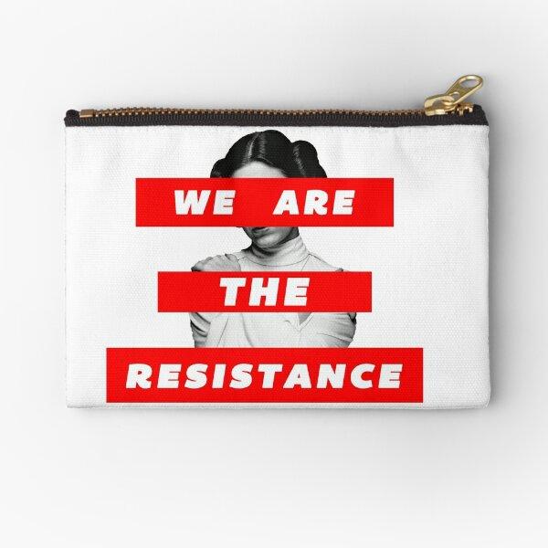 We Are The Resistance Part. deux  Zipper Pouch