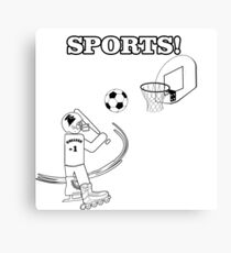 All In One Sports Canvas Print
