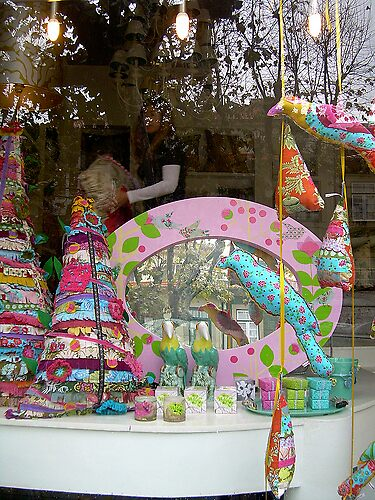 Christmas window in Portugal made by me! by atelierxt