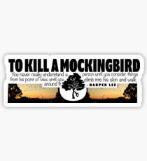 To Kill A Mockingbird  Sticker