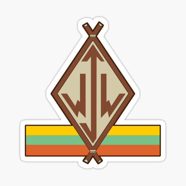 Junior Woodchuck Logo Sticker