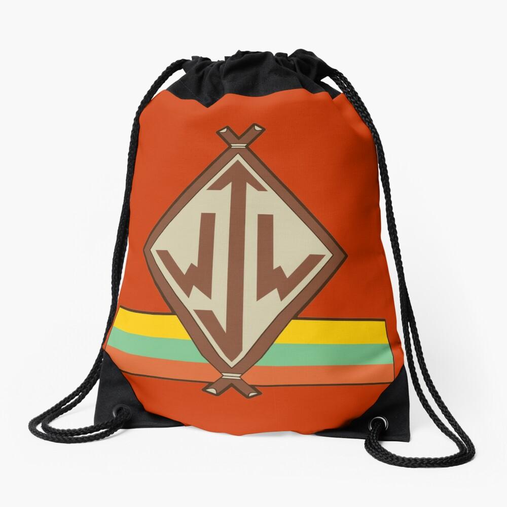 Junior Woodchuck Logo Drawstring Bag