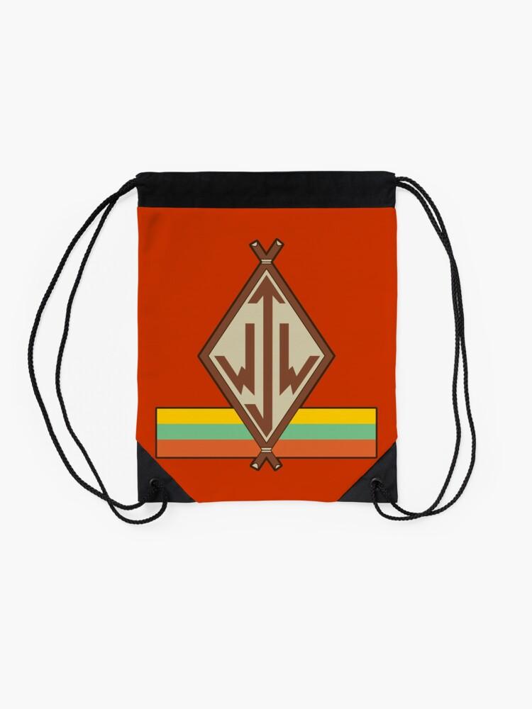 Alternate view of Junior Woodchuck Logo Drawstring Bag