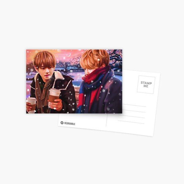 Jimin & Taehyung fanart Postcard