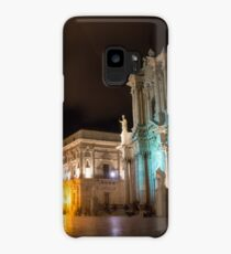 Aristocratic Square - Piazza Duomo in Ortygia, Syracuse, Sicily Case/Skin for Samsung Galaxy