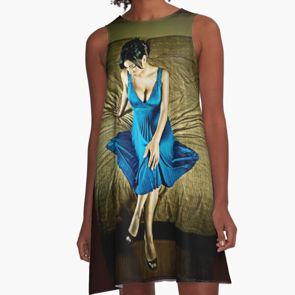 """""""Only the Lonely"""" A-Line Dress"""