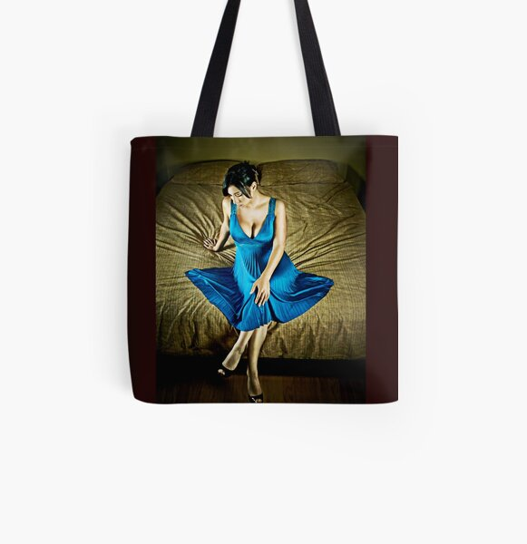 """""""Only the Lonely"""" All Over Print Tote Bag"""