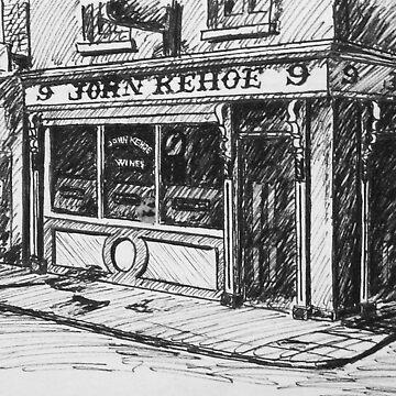 John Kehoe's Pub by hoganartgarage