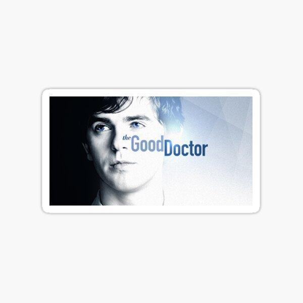 La etiqueta engomada del buen doctor 2 Pegatina
