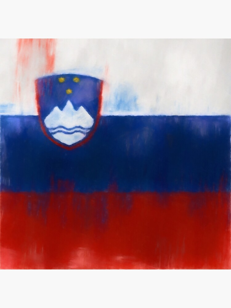 Slovenia Flag Reworked No. 1, Series 1 by 8th-and-f