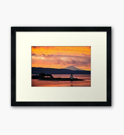Thanksgiving Sunrise Framed Print
