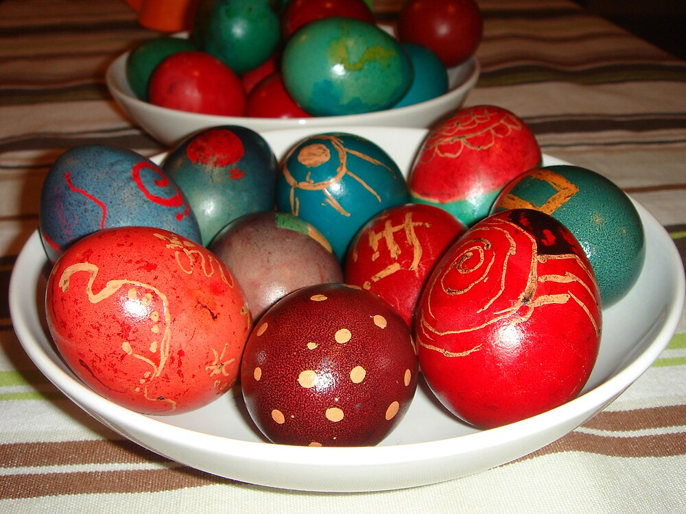 easter eggs by Gipi Gopinath