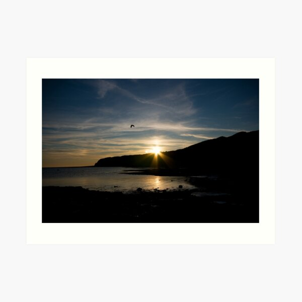 Kimmeridge Bay 1 Art Print