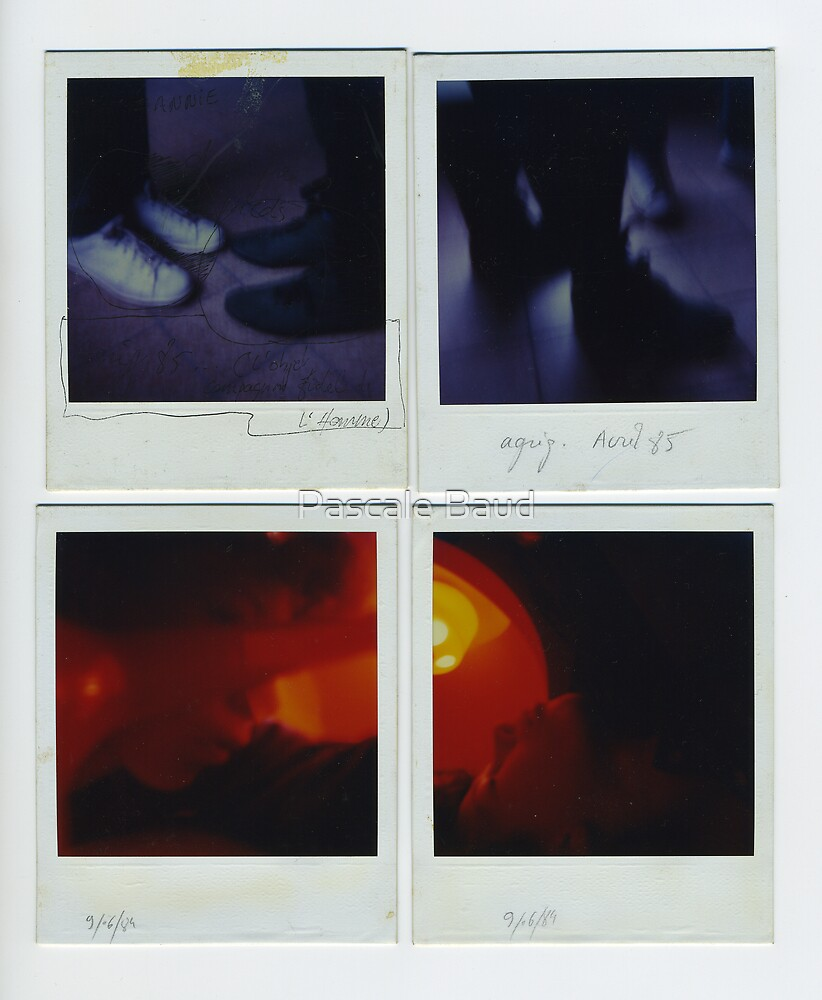 Autoportant - Polaroids by Pascale Baud