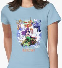 The Little Mutant Womens Fitted T-Shirt