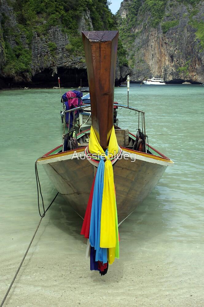 Thai Boat by Aussiebluey
