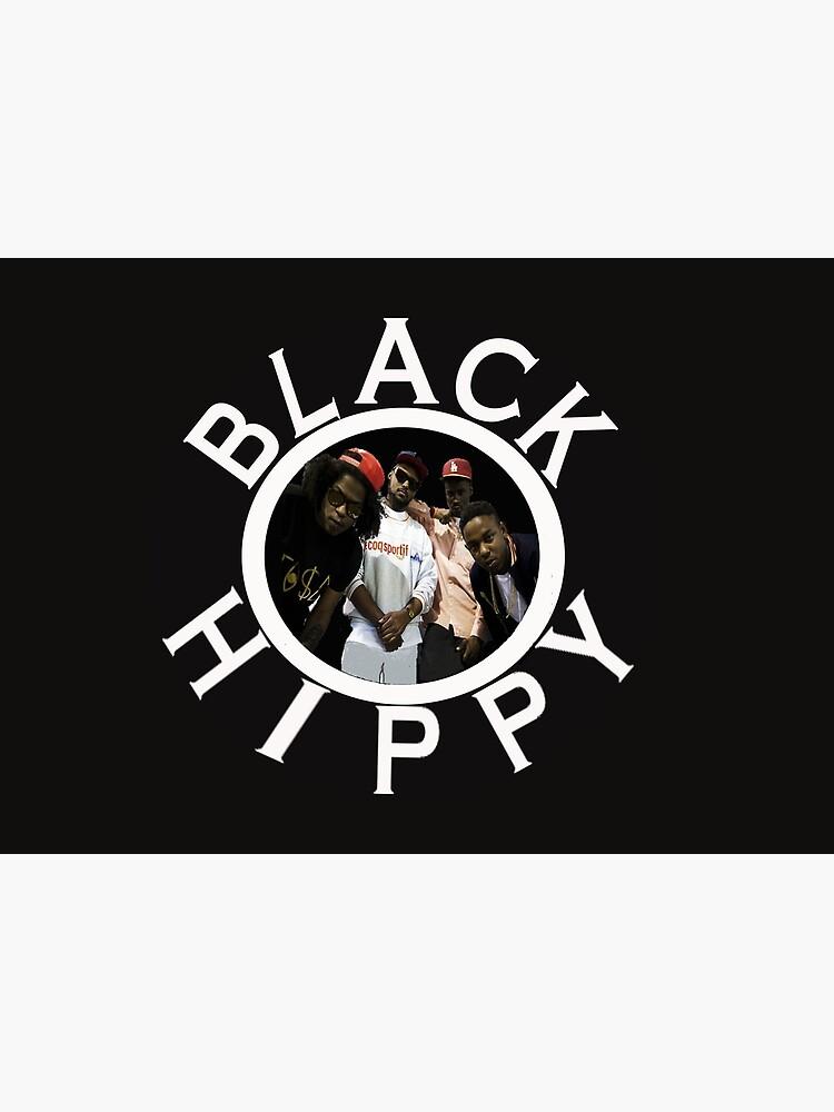 Schwarze Hippie von MiddourDesign