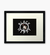 Black Hippy Framed Print